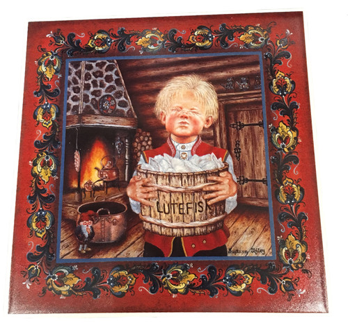 Lutefisk Boy Tile