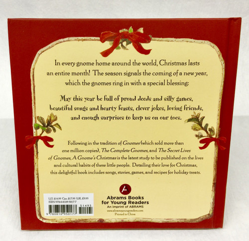 A Gnome's Christmas back cover