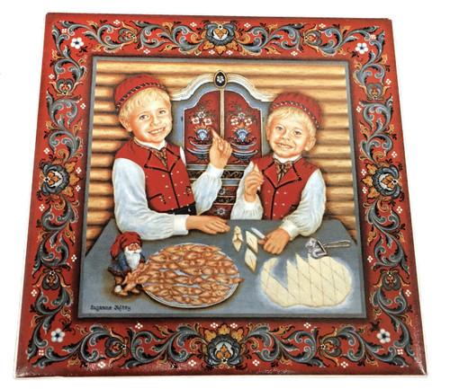 The Fattigmann Boys Tile