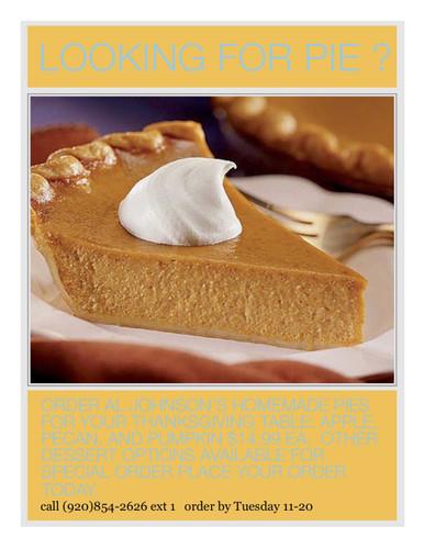 Al Johnson Pies