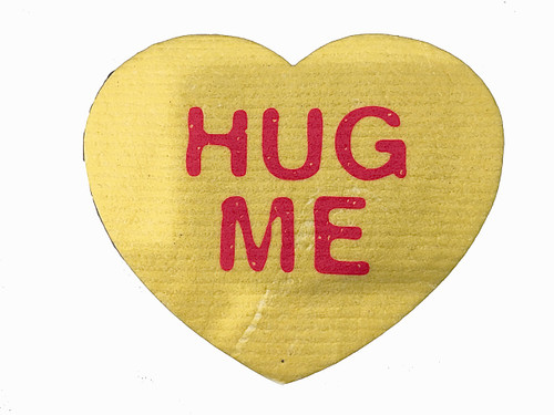 """Hug Me"" Heart Swedish Dishcloth"