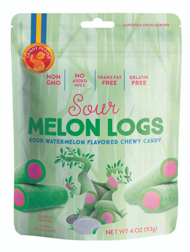 Swedish Sour Melon Logs