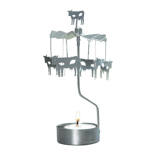 Cow Rotary Candle Holder