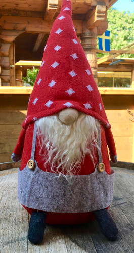 Bearded Overalls Gnome