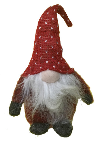 Felted Tomten (red)