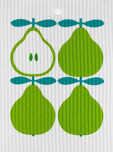Pear Swedish Dishcloth