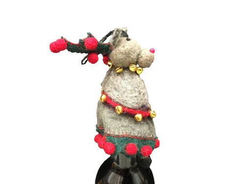 Reindeer Bottle Topper