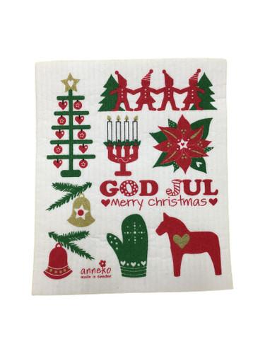 Swedish Christmas Swedish Dishcloth