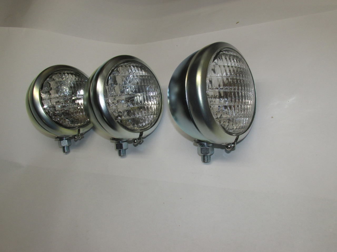 "Set of 3 - 4 1/2"" Head Lights 12V"
