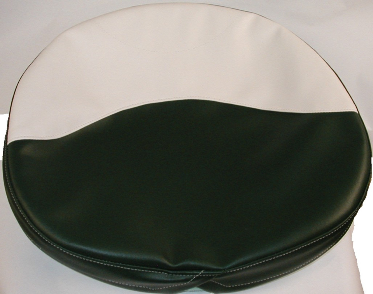 Green And White Seat Cushion