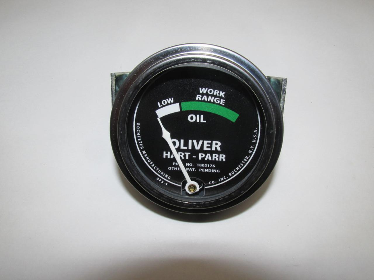 Oil Gauge Black Faced (USA)