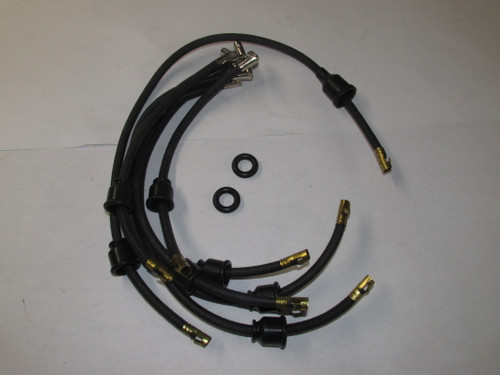 6 cyl. Spark Plug Wire Set (cloth covered)
