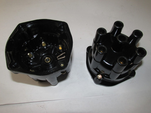 6 cyl. Distributor Cap  Screw on Style
