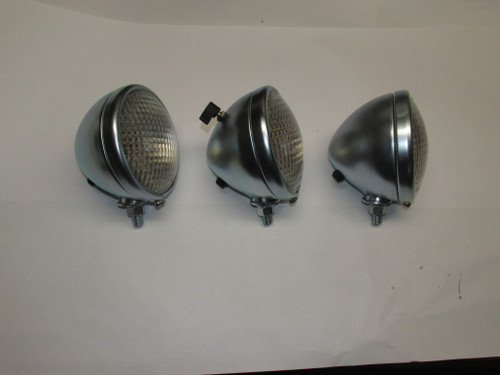 "2 - 4 3/4"" Head light and 1 - 4/34/"" Tail Light 6V"