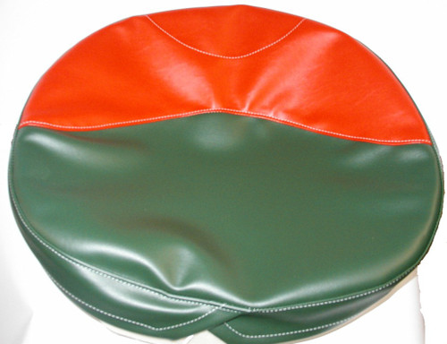 Green And Red Seat Cushion