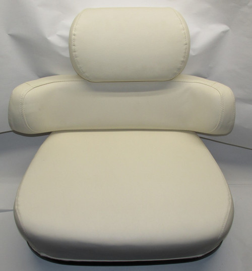 3 Piece Cream Smooth w/o Brackets Seat Cushion Set