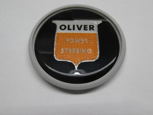 Steering Center Cap Black W/ P/S