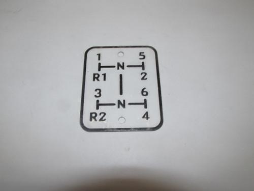 Gear Shift Plate (550)
