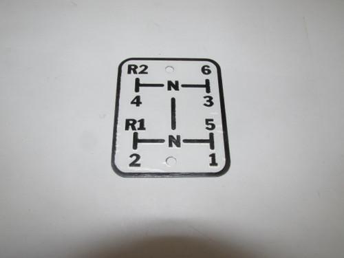 Gear Shift Plate 660-880)