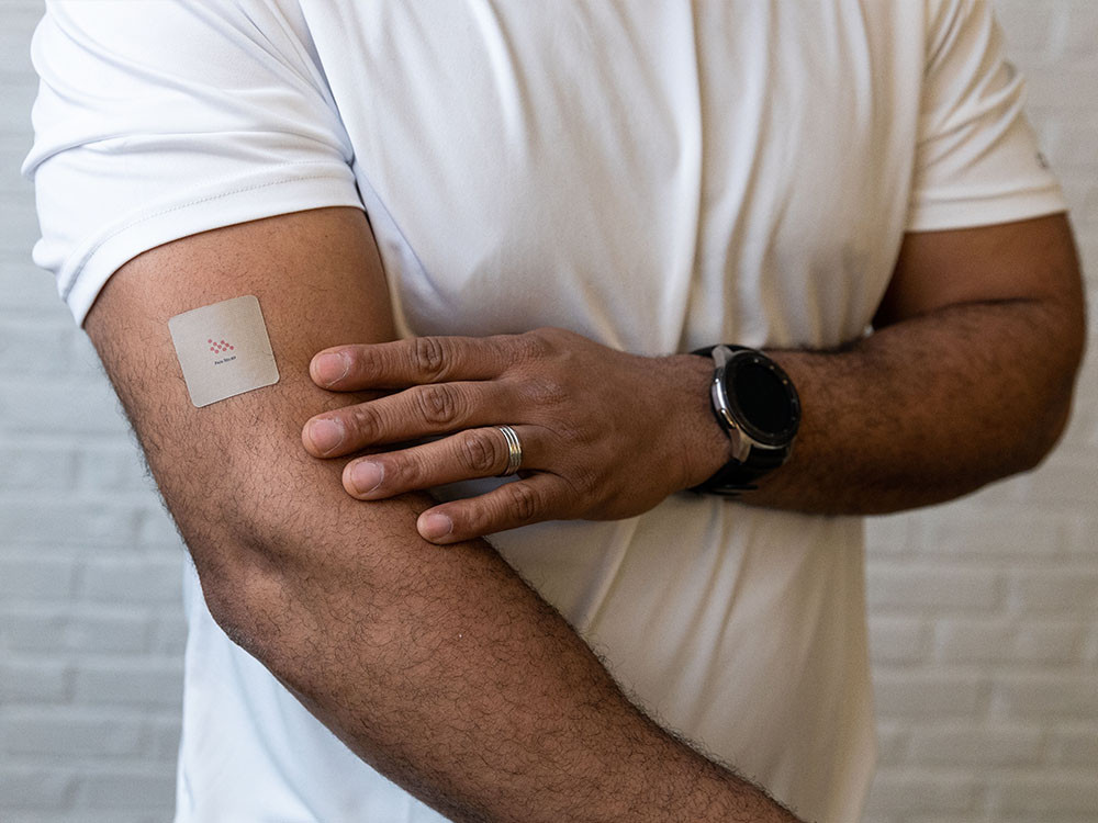 Relieve aches and pains with the BioActivate Pain Relief wearable body patch.
