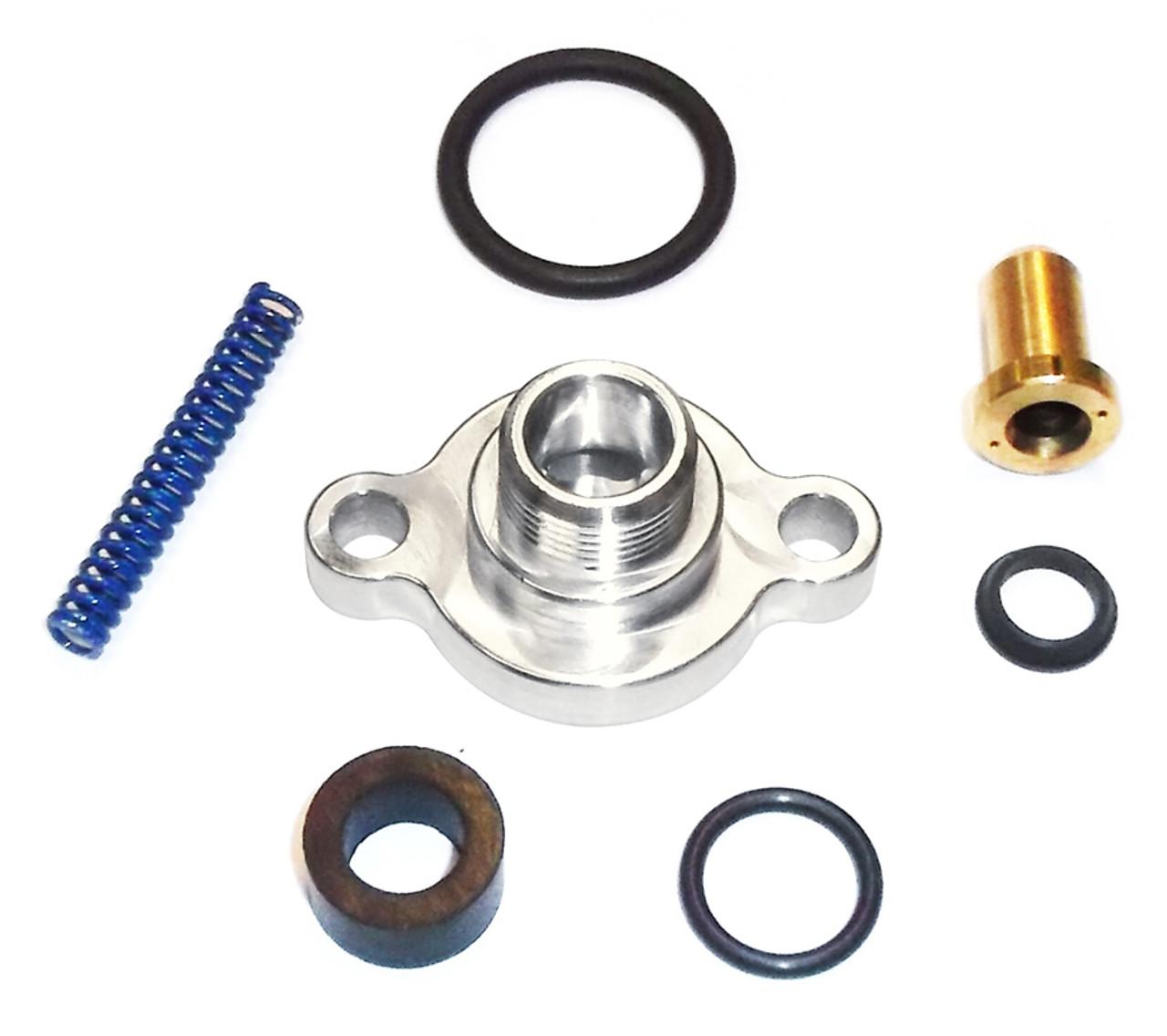 Ford 7 3L Fuel Pressure Regulator Billet Valve Cap Kit | ISK641