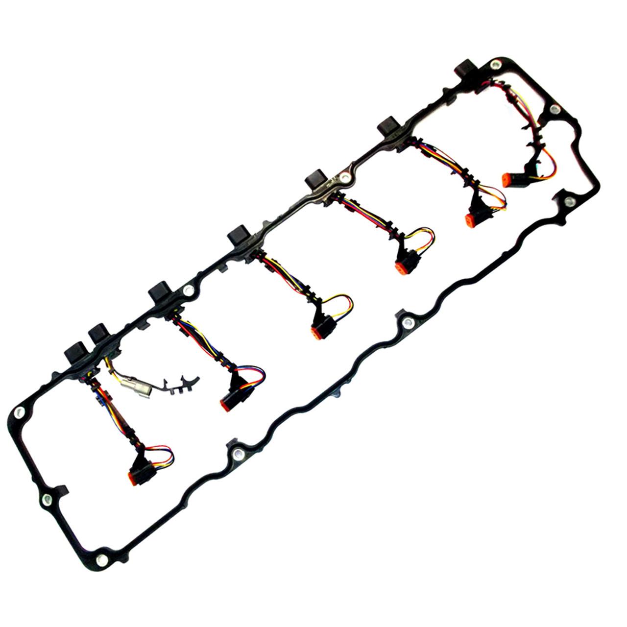 Navistar Dt466e Injector Harness Also Dt466e Injector Wiring