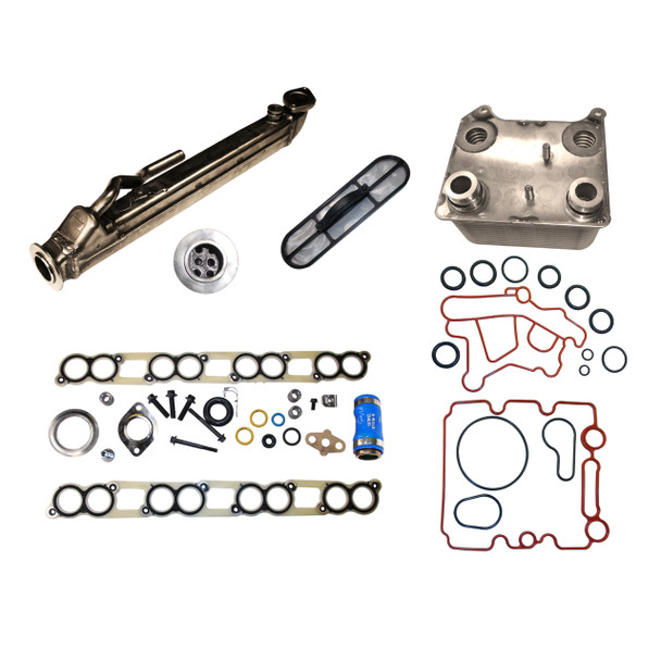 EGR500-3 Ford 6.0L EGR Cooler Kit