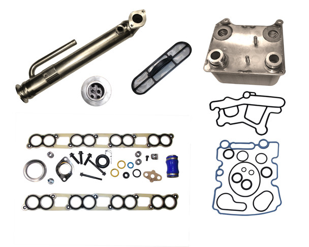 EGR501-3 Ford 6.0L EGR Cooler Kit