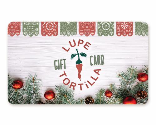 Holiday Gift Card w/Bonus
