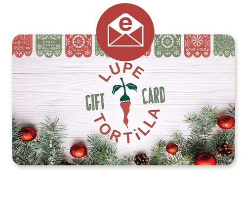 Holiday E-Gift Card