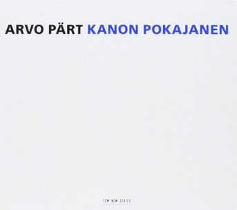 Kanon Pokajanen - Arvo Part, 2 CD Set