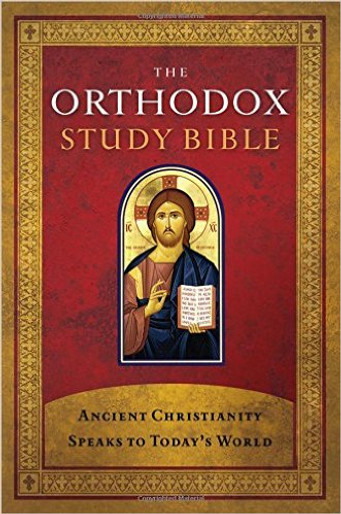 The Orthodox Study Bible, Leathersoft Cover