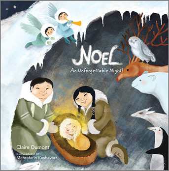 Here is a charming, unique children's book that tells the beautiful story of the birth of Jesus.