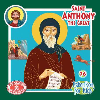 Saint Anthony the Great, Paterikon for Kids 76 (PB-SAANPO)