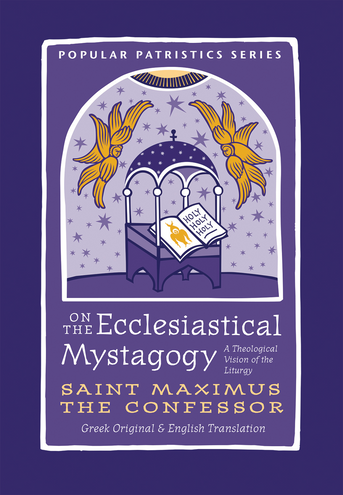 "Popular Patristics Series Volume 59  St Maximus the Confessor (c. 580-662) beautifully expounds the meaning of the Divine Liturgy in On the Ecclesiastical Mystagogy, which had a profound influence on the subsequent tradition, beginning with St Germanus of Constantinople (PPS 8). Maximus' vision of the liturgy contemplates the interpenetrating relationships of all things with each other and with Christ, In whom all things cohere. The church building and the human being and the cosmos are all mutually related and symbolically reflect each other. Further, In the liturgy we enter into the mystery of Christ. As St Maximus puts it, ""Let us not be absent from the holy Church of God because she contains such great mysteries of our salvation according to... and she reveals the gift of adoption that is given through holy baptism in the Holy Spirit and that perfects each one into the image of Christ."""