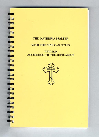 The Kathisma Psalter with the Nine Canticles