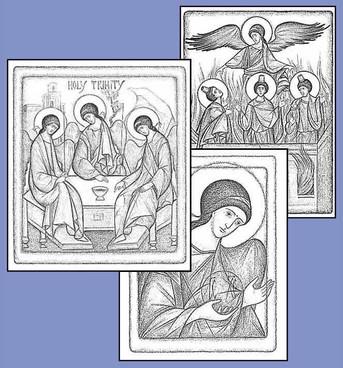 PK-67 Charcoal Angel Note Card Assortment