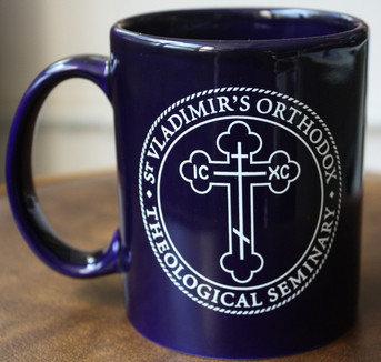 Seminary Coffee Mug (Navy Blue)