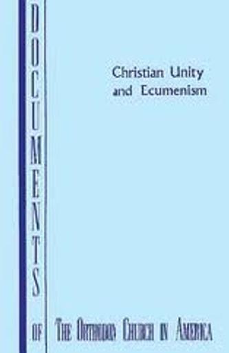Christian Unity and Ecumenism