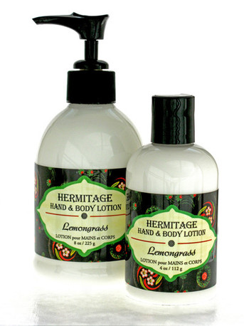 Hand & Body Lotion - Lemongrass, Lg.