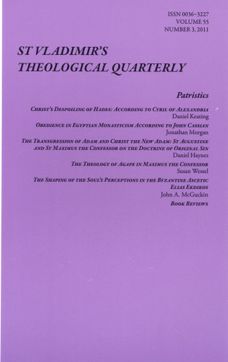 St. Vladimir's Theological Quarterly, Vol. 55, no. 3 (2011)