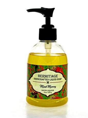 Liquid Soap - Olive Oil, Merry Mint