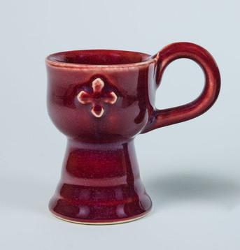 Censer - Stoneware, Red