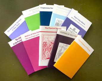 Lenten Service Books Package