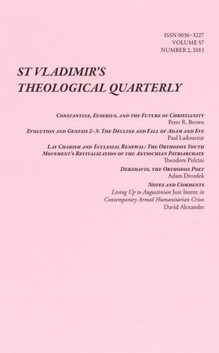 St. Vladimir's Theological Quarterly, Vol. 57, no. 2 (2013)