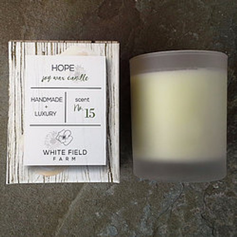Candle - Hope, Soy Wax, 7oz