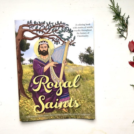 Royal Saints Coloring Book