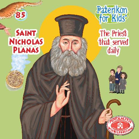 Saint Nicholas Planas, Paterikon for Kids 85 (PB-NIPLPO)
