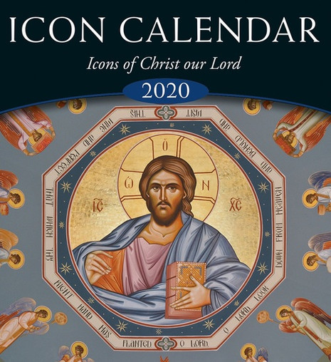 2020 Icon Calendar : Icons of Christ our Lord