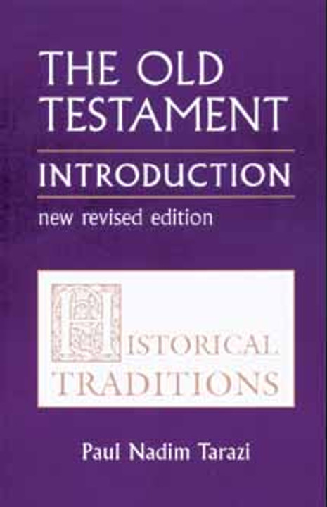 Old Testament Introduction, Vol. I; Historical Traditions
